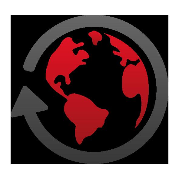 adhok Icon Internationalisierung - maevo