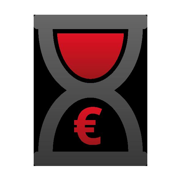 adhok Icon Zeit Kosten - maevo